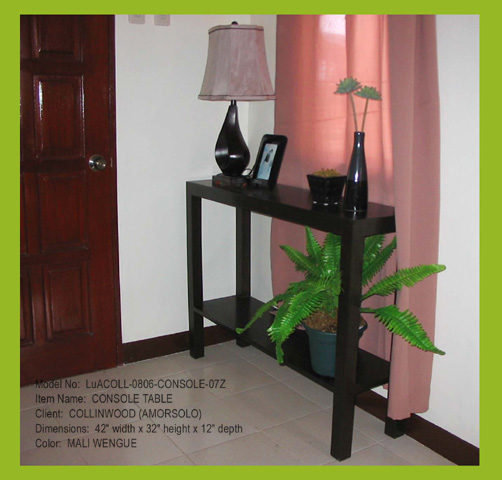 Console Table Designs Philippines